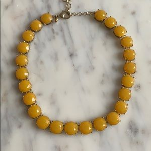 Jcrew Yellow Statement Necklace